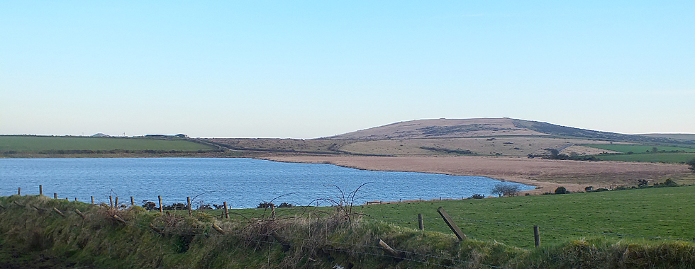 Dozymary Pool in the Parish of St Neot